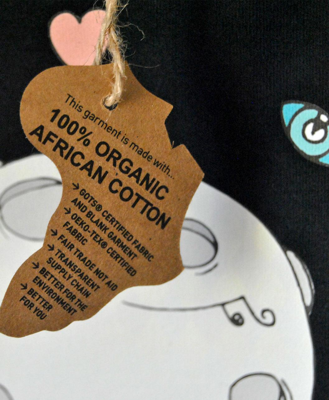 body algodon organico manga larga negro diseno luna