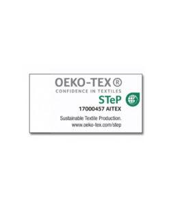 certificado oeko textil etiquetas mochilas