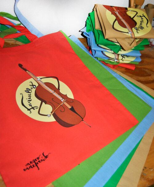 bolsos de tela personalizados con dibujos bonitos originales unicos ideales regalo