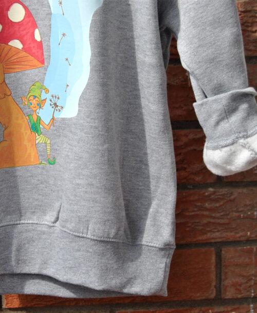 sudaderas infantiles con dibujos originales unisex seta duende hada
