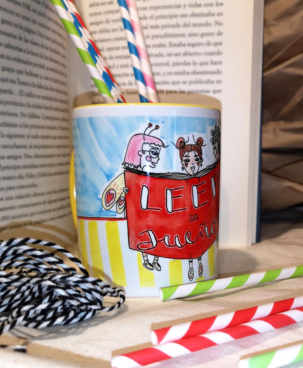 tazas para regalo gente que le guste leer